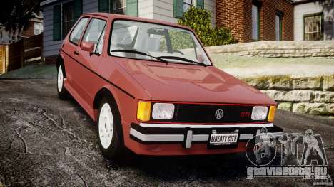 Volkswagen Rabbit 1986 для GTA 4