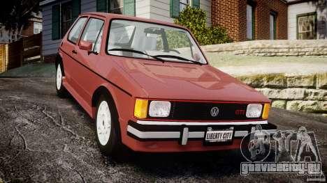 Volkswagen Rabbit 1986 для GTA 4