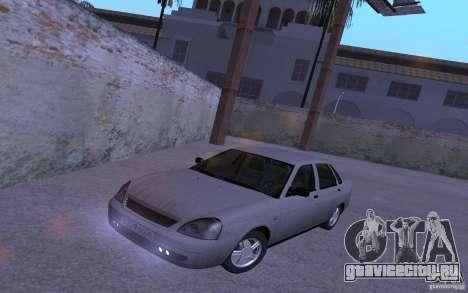ВАЗ 2170 Priora Pnevmo для GTA San Andreas вид сзади