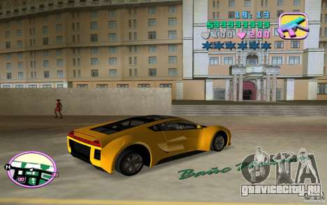 Saleen S5S Raptor для GTA Vice City вид слева