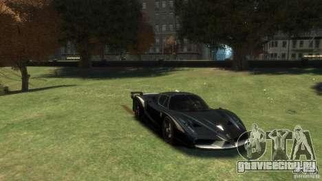 Ferrari FXX Evoluzione для GTA 4 вид сзади слева