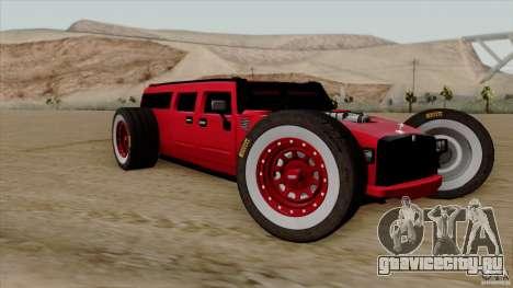 Hummer H2 The HumROD для GTA San Andreas
