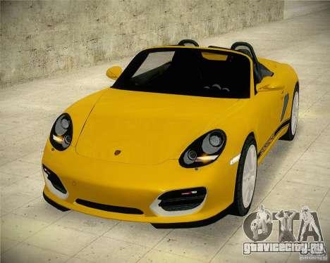 Porsche Boxter Spyder для GTA San Andreas вид справа