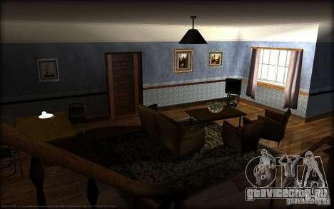 Новые текстуры для дома Джонсонов для GTA San Andreas второй скриншот
