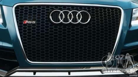 Audi RS5 2011 [EPM] для GTA 4 двигатель