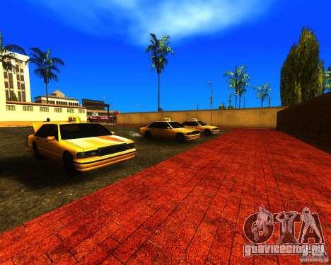 Оживлённый железнодорожный вокзал в Лос Сантосе для GTA San Andreas четвёртый скриншот