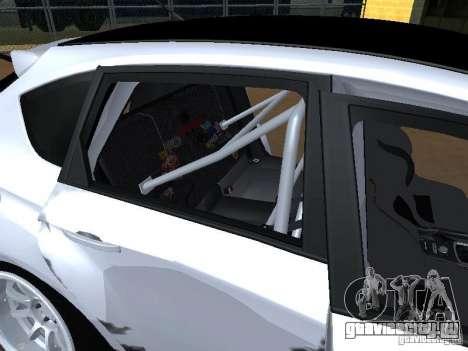 Subaru Impreza STI hellaflush для GTA San Andreas вид сверху
