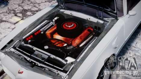 Pontiac Firebird Esprit 1971 для GTA 4 вид сбоку