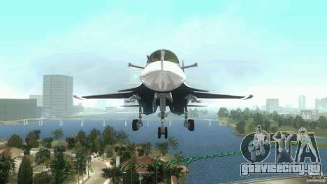 Vice City Air Force для GTA Vice City вид слева