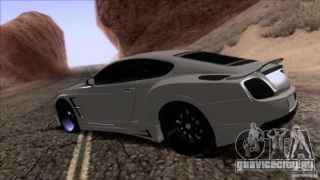 Bentley Continental GT Premier 2008 V2.0 для GTA San Andreas двигатель