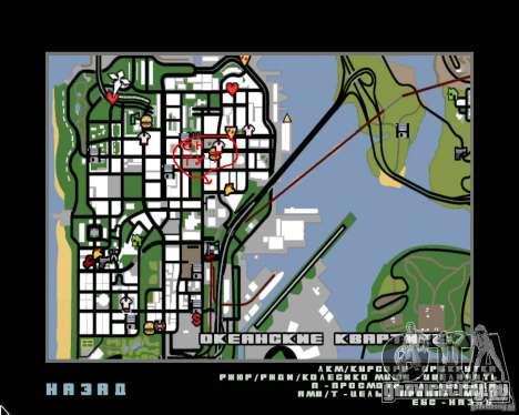 NEMESIS для GTA San Andreas четвёртый скриншот