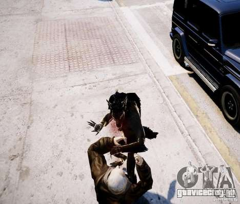 Werewolf from Skyrim для GTA 4 пятый скриншот