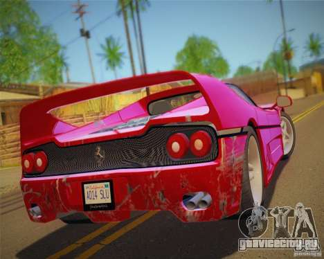 GTA IV Scratches Style для GTA San Andreas шестой скриншот