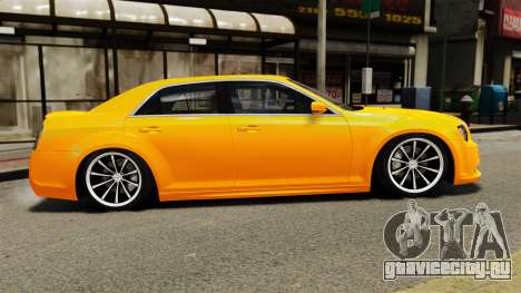 Chrysler 300 SRT8 LX 2012 для GTA 4 вид слева