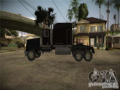 Linerunner из GTA 3 для GTA San Andreas вид сзади слева