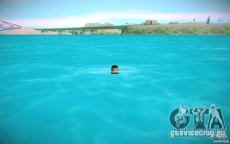 HD-вода для GTA San Andreas пятый скриншот