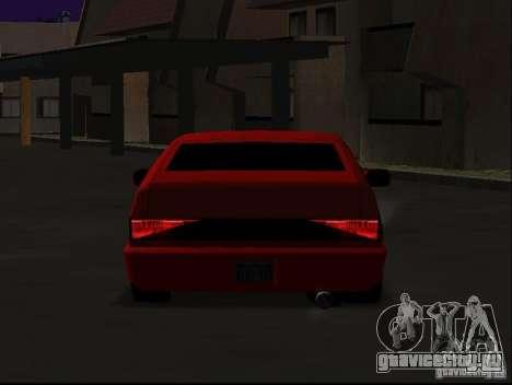 New Blistac для GTA San Andreas вид изнутри