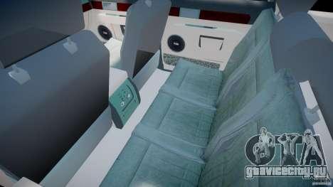 Lincoln Navigator 2004 для GTA 4 вид изнутри
