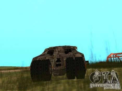Batman Car для GTA San Andreas вид справа