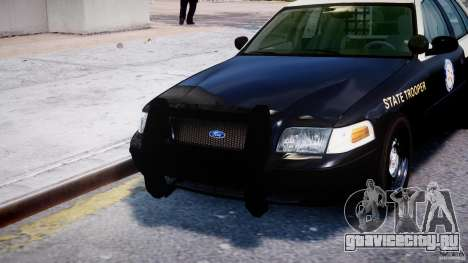 Ford Crown Victoria Fl Highway Patrol Units ELS для GTA 4 салон