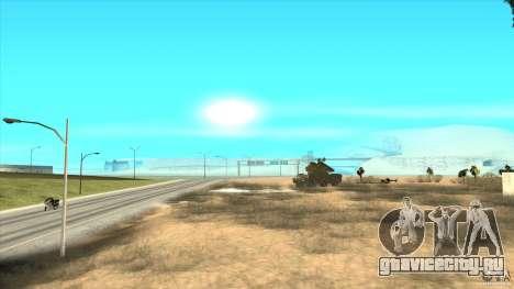 ЗРК ОСА для GTA San Andreas вид сверху