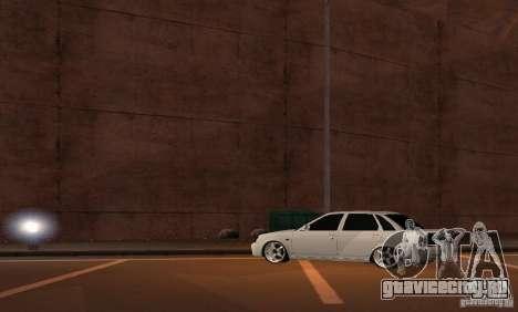 Лада Приора v.2 для GTA San Andreas вид справа
