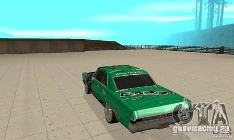 Pontiac GTO 1965 Speed King-NFS Pro Street для GTA San Andreas вид справа