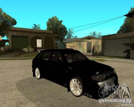 ВАЗ 2114 Меченный для GTA San Andreas вид справа