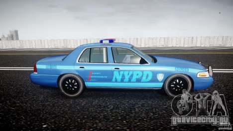 Ford Crown Victoria 2003 Noose v2.1 для GTA 4 вид сзади