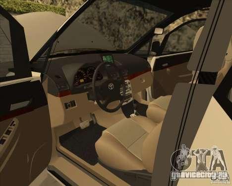 Toyota Innova для GTA San Andreas вид снизу