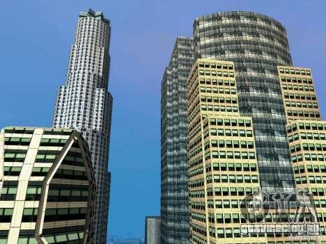 Новые текстуры небоскрёбов Downtown для GTA San Andreas