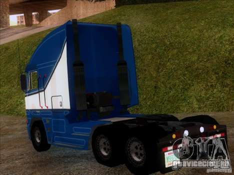 Freightliner Argosy Skin 1 для GTA San Andreas вид сзади слева