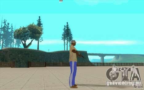 Спортивные штаны adidas для GTA San Andreas третий скриншот