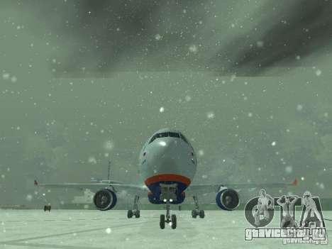 Airbus A330-300 Аeroflot для GTA San Andreas вид сбоку
