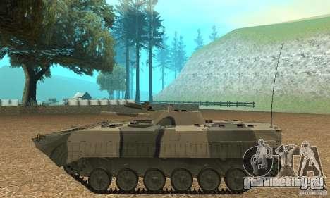 БМП-1 Камуфляжный для GTA San Andreas вид слева