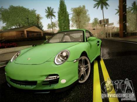 Porsche 911 (997) turbo для GTA San Andreas