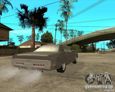 1972 Plymouth Fury III Stock для GTA San Andreas