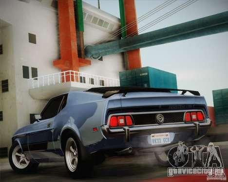 Ford Mustang Mach1 1973 для GTA San Andreas вид слева