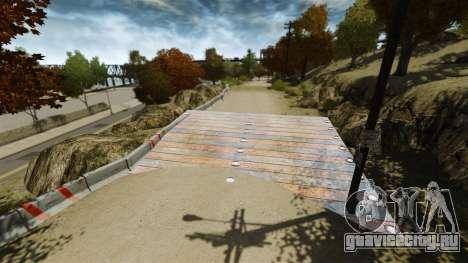 Ралли трек для GTA 4 третий скриншот