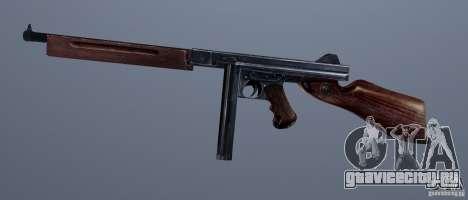 M1 (пистолет-пулемет Томсона) (v1.1) для GTA Vice City четвёртый скриншот