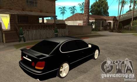 TOYOTA ARISTO 2001 года для GTA San Andreas вид справа