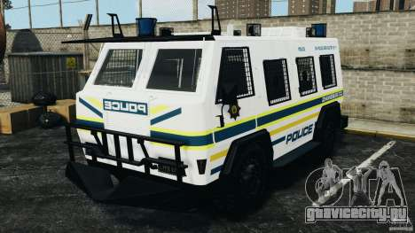 RG-12 Nyala - South African Police Service для GTA 4