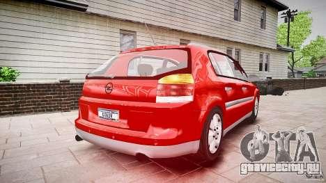 Opel Signum 1.9 CDTi 2005 для GTA 4 вид изнутри