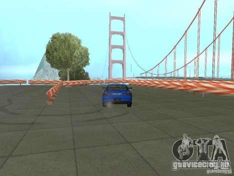 New Drift Track SF для GTA San Andreas шестой скриншот