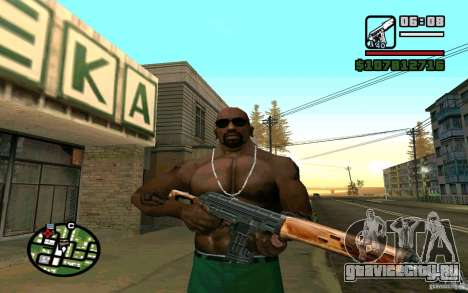 Снайперская Винтовка Драгунова v2.0 для GTA San Andreas третий скриншот