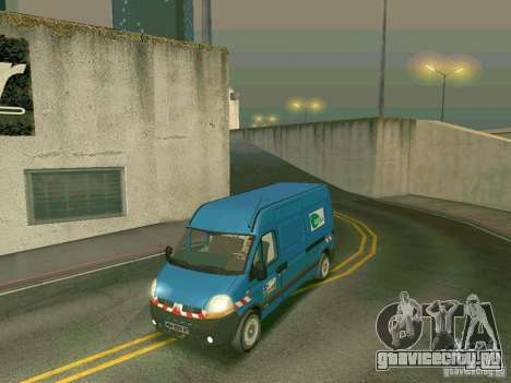 Renault Master для GTA San Andreas вид слева
