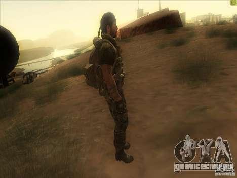 Frank Woods для GTA San Andreas третий скриншот