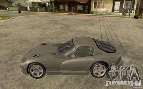 Dodge Viper GTS для GTA San Andreas вид слева