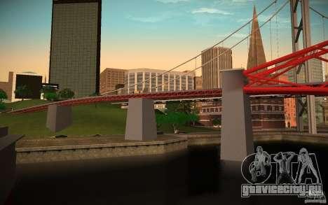 HD Red Bridge для GTA San Andreas второй скриншот