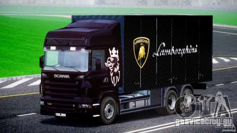 Scania R580 Tandem для GTA 4